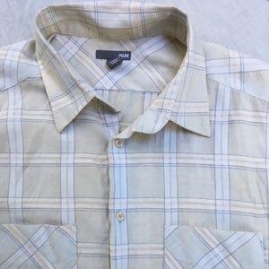 Vintage H&M Short Sleeve Button Up